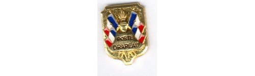 Insignes  Porte - drapeau