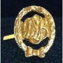 Agrafe- Deutsch Sport Bunder Bronze dore