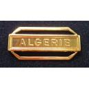 Algerie Agrafe Plate OR