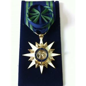 Mérite Maritime - Officier - Ordonnance - Bronze Doré