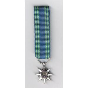 Mérite  Maritime - Chevalier - Réduction Bronze Argenté