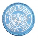 ECUSSON DE BRAS BLEU UNITED NATION